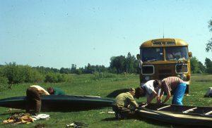 На следующий, 1996, год для обследования верховий поймы Припяти от Ратно до Простыри была организована экспедиция на двух байдарках.
