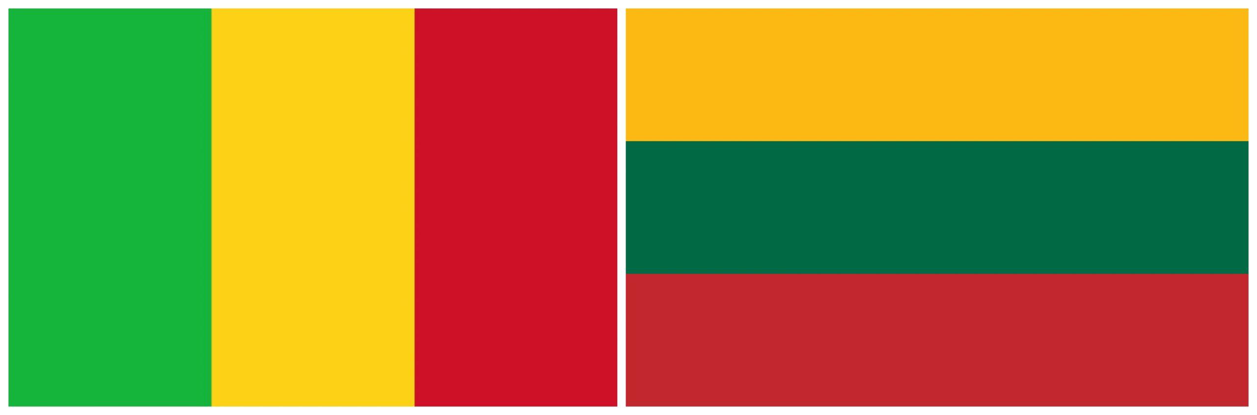 Malio ir Lietuvos vėliavos